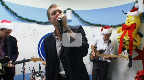 "The Walkmen cover ""Holiday Road"" for the A.V. Club's Holiday Undercover series"