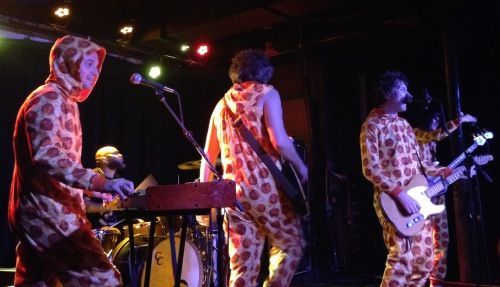 Tommy Stinson and his stellar band take the encore costume change to a whole new level during their show at the Turf Club on Saturday, September 12, 2015.